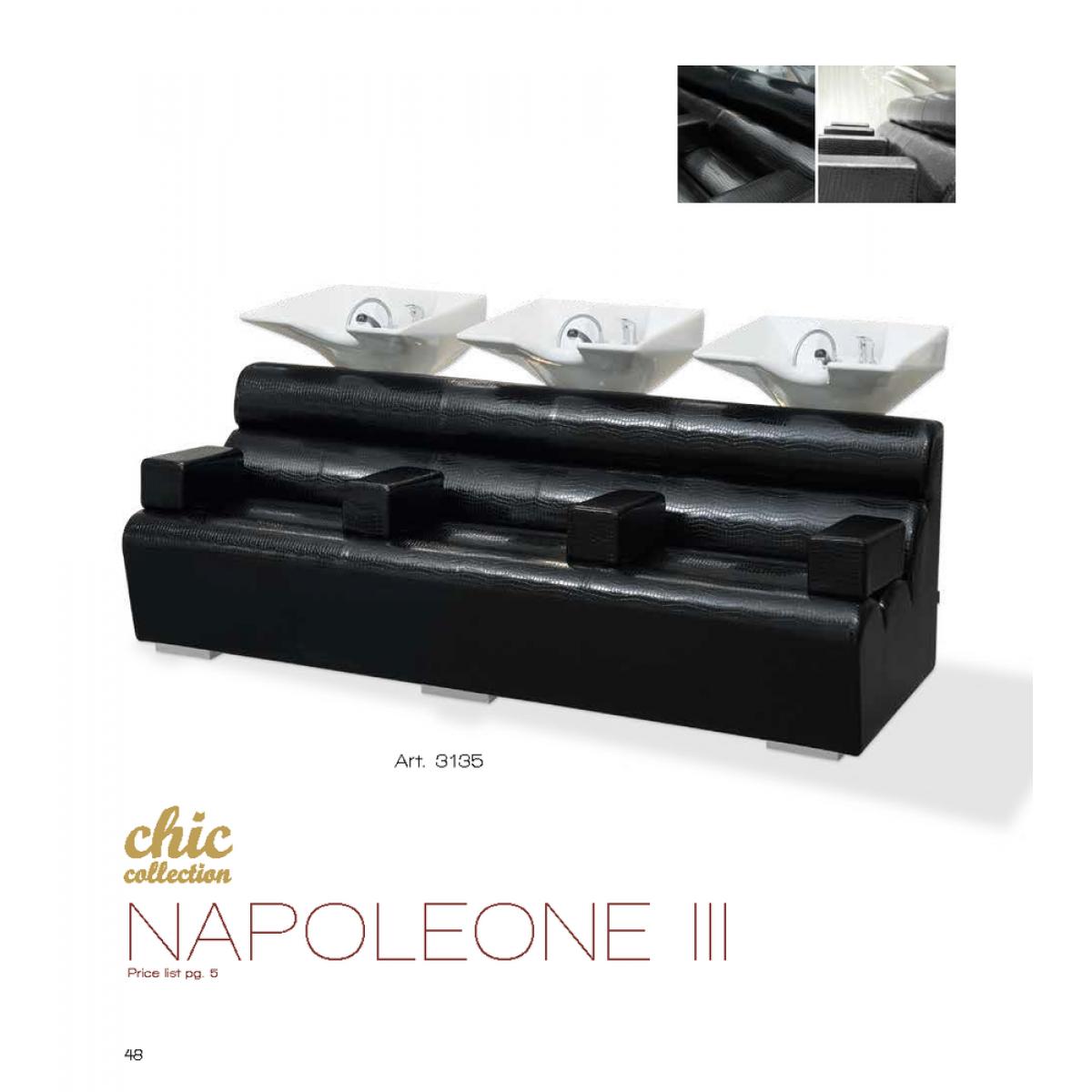 Λουτήρας Κομμωτηρίου Chic Napoleone III Vezzosi ART 3135
