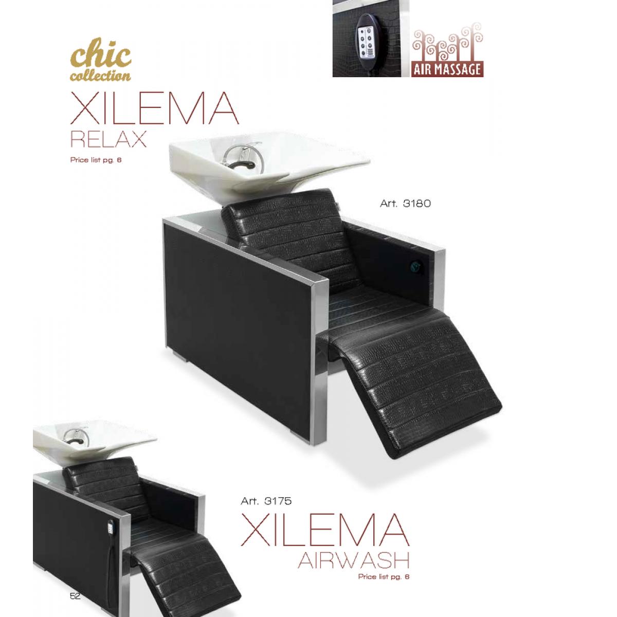 Λουτήρας Κομμωτηρίου Chic Xilema Relax Vezzosi ART 3180-3175