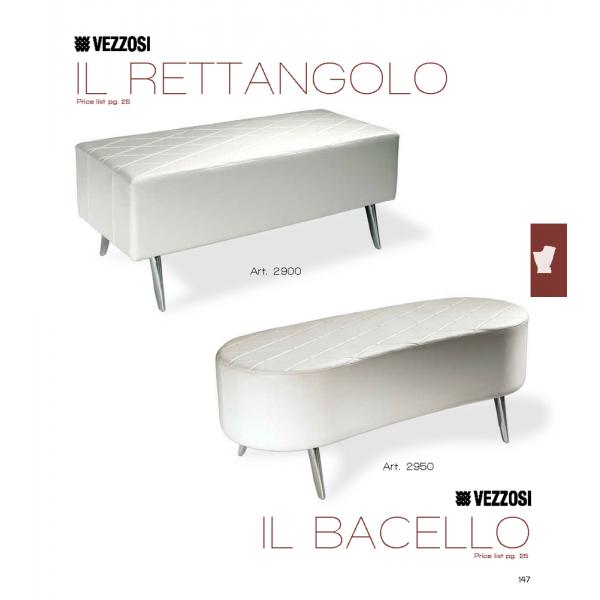 Καναπές Κομμωτηρίου Rettangolo & Bacello Vezzosi